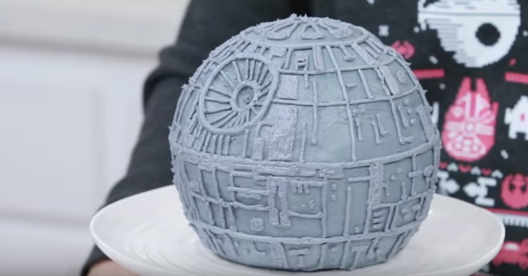 Star Wars Death Star Cake The Sits Girls