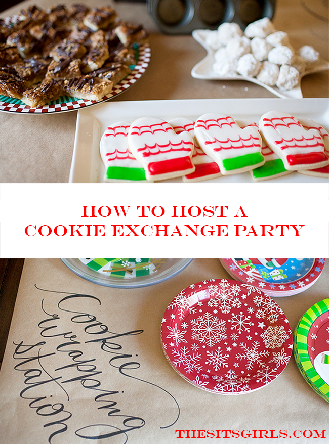 Holiday Cookie Party | Cookies + Friends = Girls Night Perfection! Ideas, tips, and recipes to help you host the perfect cookie exchange party!