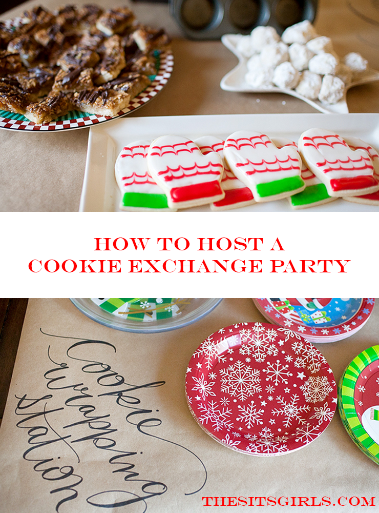 Cookies + Friends = Girls Night Perfection! Ideas, tips, and recipes to help you host the perfect cookie exchange party!