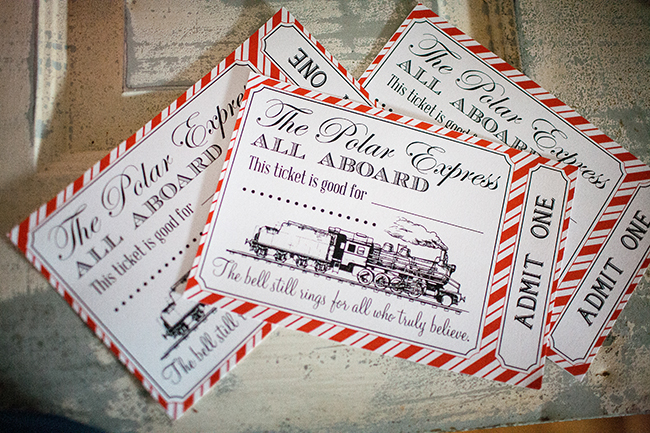 All aboard the Polar Express Printables