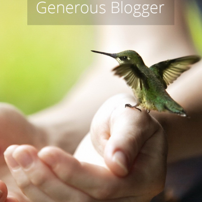 How To Be A Generous Blogger (Why Sharing Other Bloggers Is Good For You, Too)