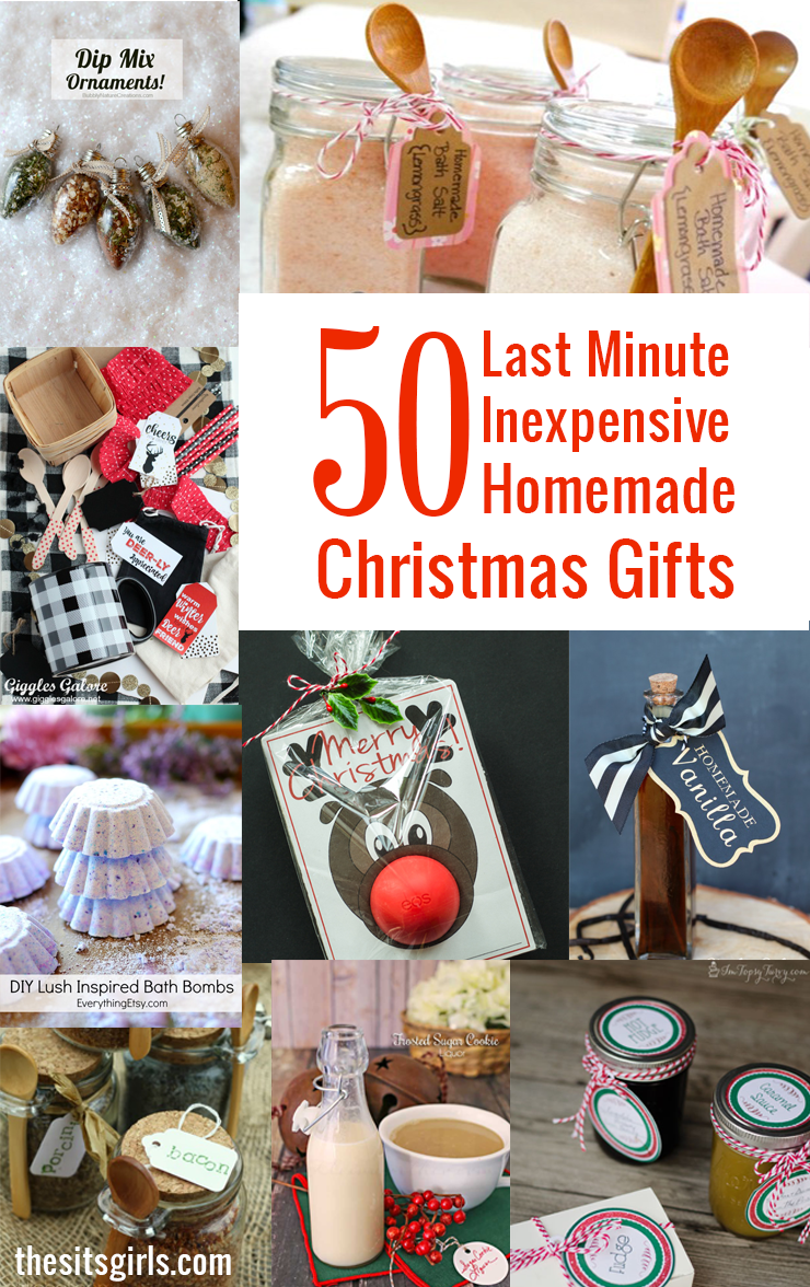 50 last minute inexpensive homemade christmas gifts Homemade christmas gifts