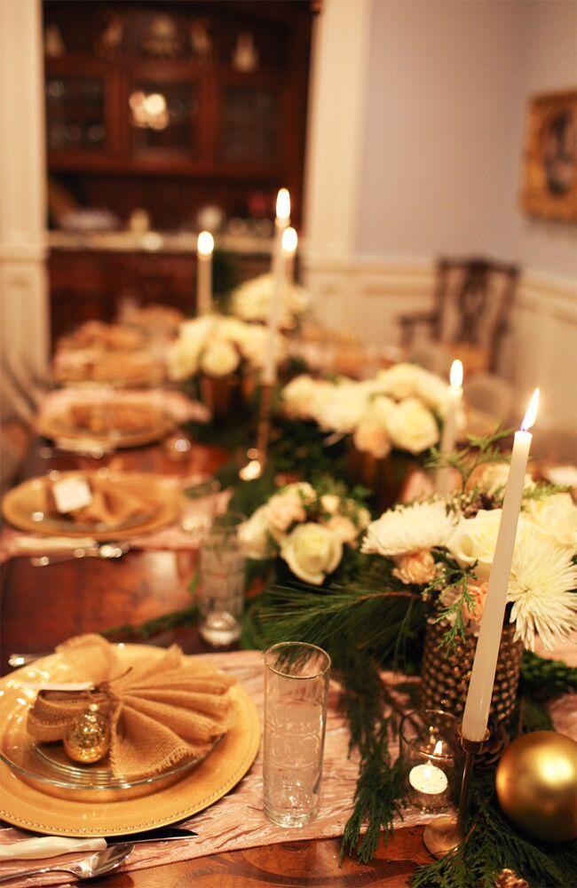 Elegant Christmas Party Decor