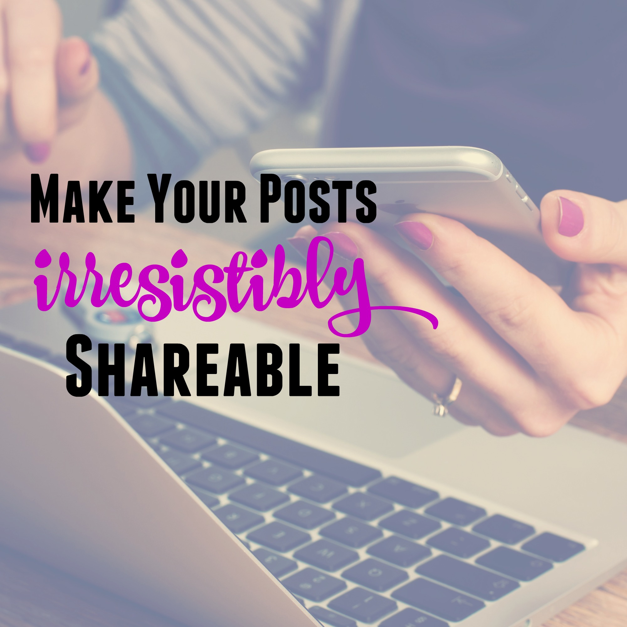 how to make my posts shareable on facebook