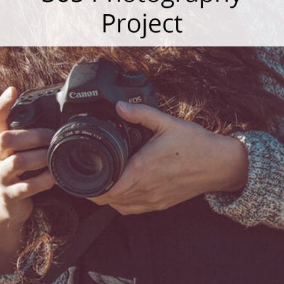 How To Start A 365 Photography Project