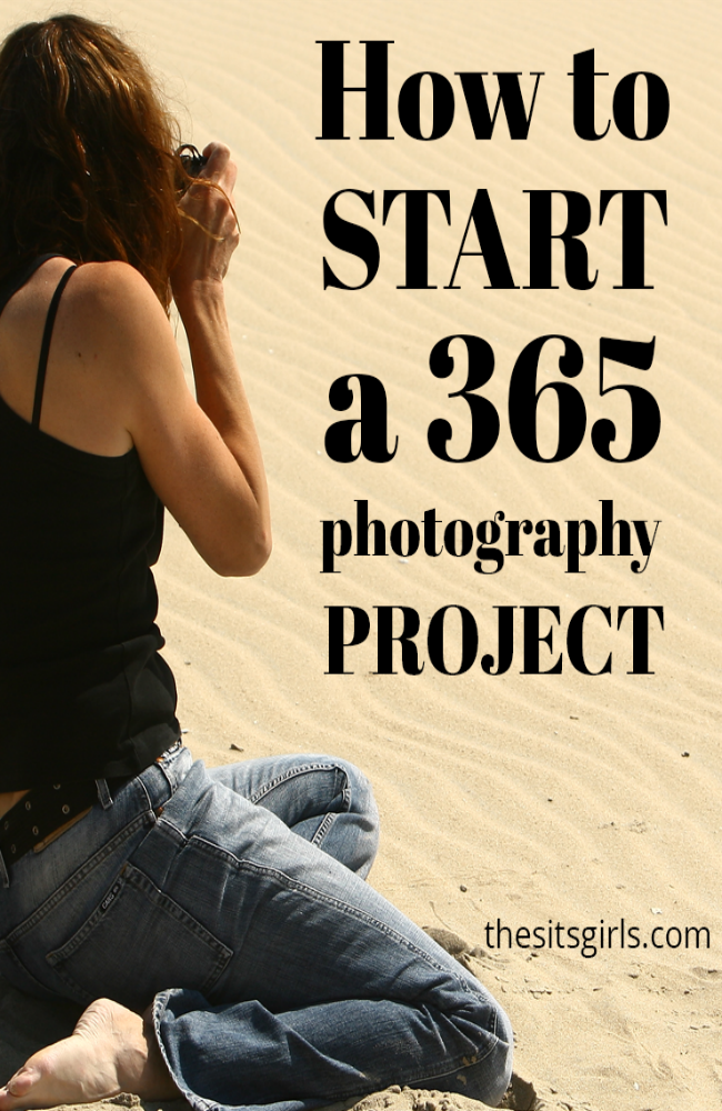 Jumpstart your creativity and work on your photography skills by participating in a 365 Photography Project. Start today! You don't have to wait until the beginning of the year! | Photography Tips