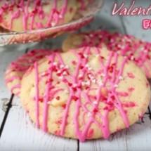 Valentine Funfetti Cookies!