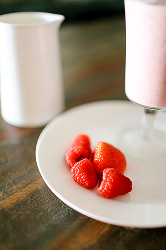 Berries are the perfect way to pack in nutrients!