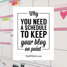 You Need A Schedule To Keep Your Blog On Point