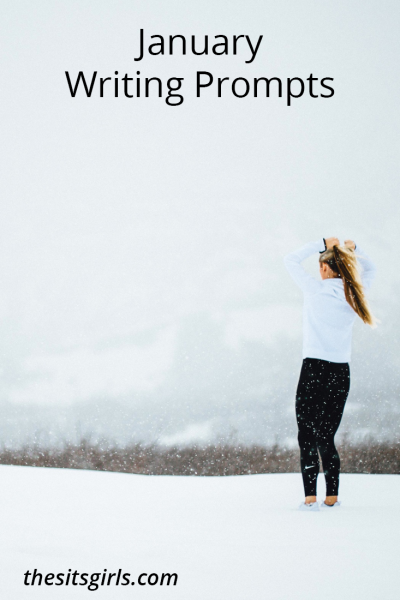 Do you need writing inspiration? Here's a list of writing prompts for each day of January to help you blog all month long.