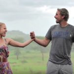 Kristen Bell & Dax Shepard Bless The Rains Down In Africa