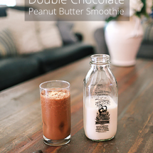 Double Chocolate Peanut Butter Smoothie