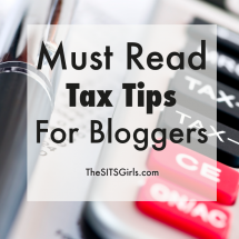 Must-Read Tax Tips for Bloggers