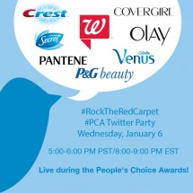 Walgreens and P&G People's Choice Awards Twitter Party: Join Us!