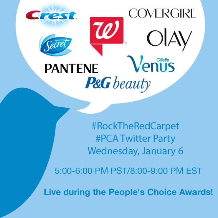 Walgreens and P&G People's Choice Awards Twitter Party