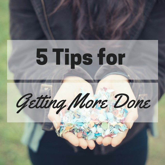get more things done
