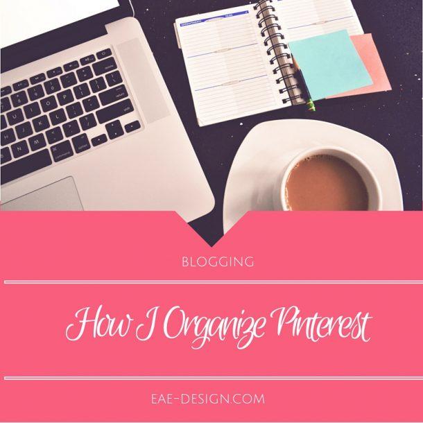 organize pinterest