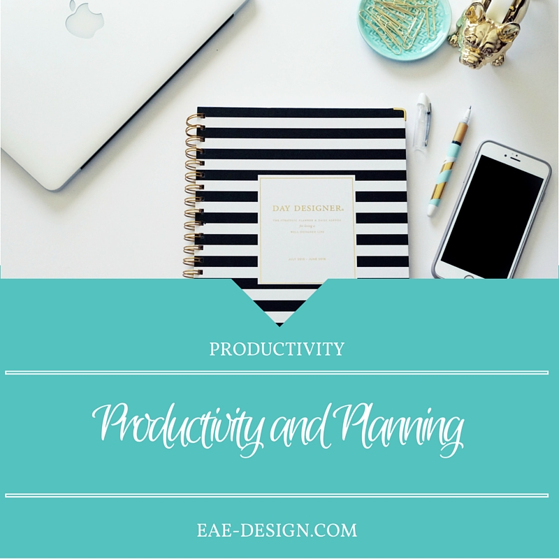 productivity and planning