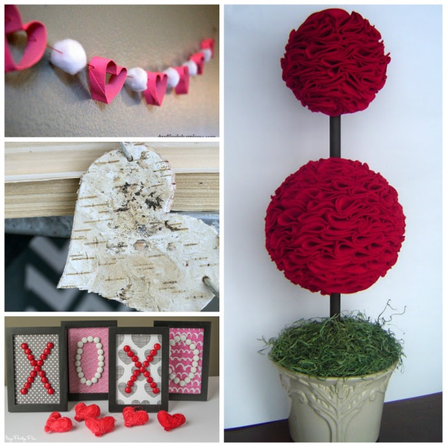 Valentine's Day ideas for crafting.