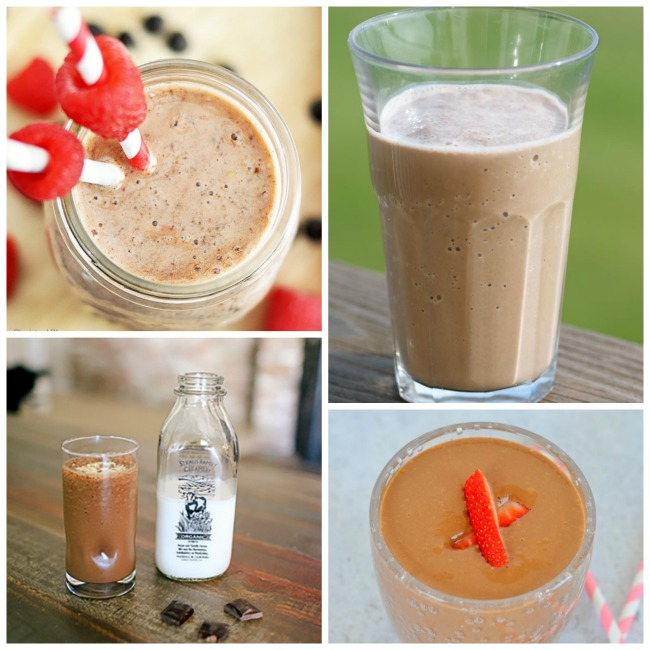 The best chocolate smoothie recipes!