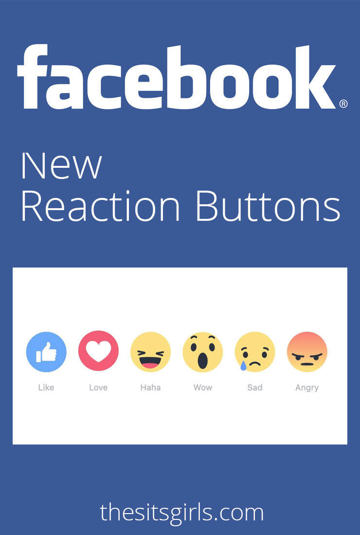 Facebook unveils new reaction buttons, giving users the ability to express exactly how they feel about the posts in their newsfeed!
