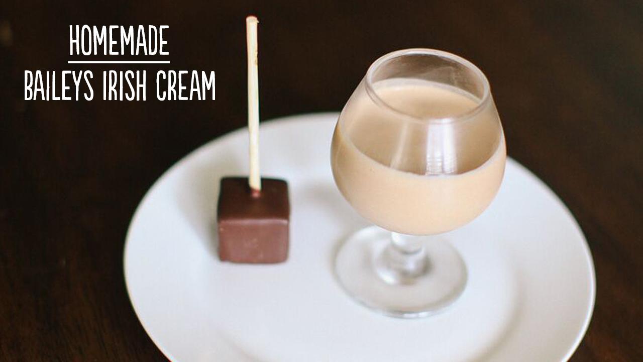 Home Made Baileys Irish Cream