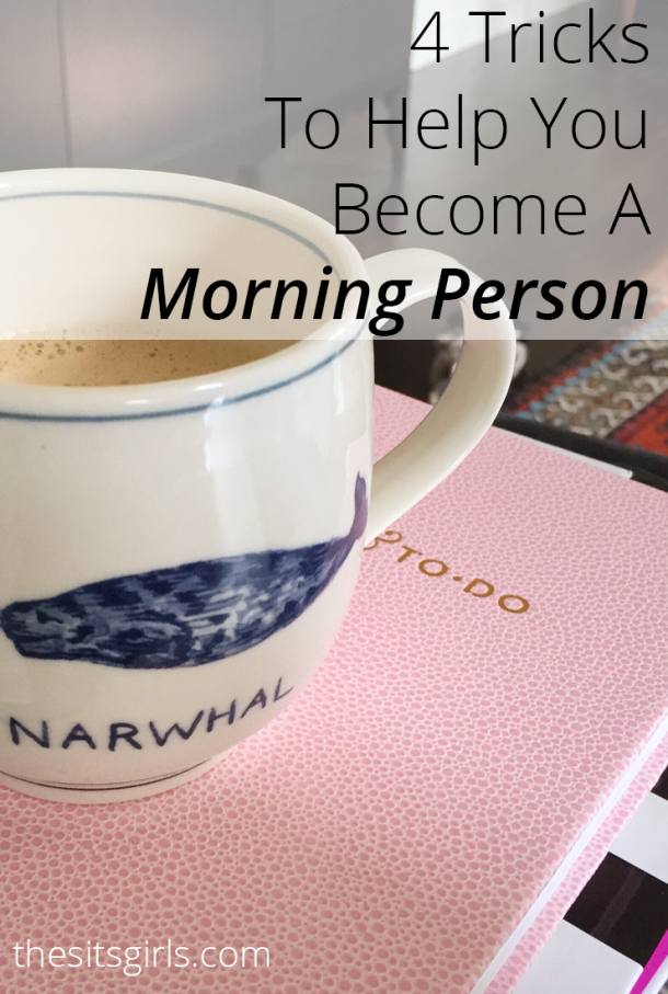 Do you find yourself dragging in the morning? Hitting the snooze button more than you should? These tips will help you become a morning person. Yes, YOU! It is possible.