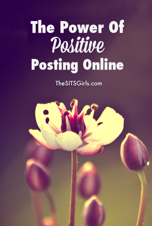 You have the power to brighten someone's day or change the entire environment of your online space by bringing positivity to your online interactions.