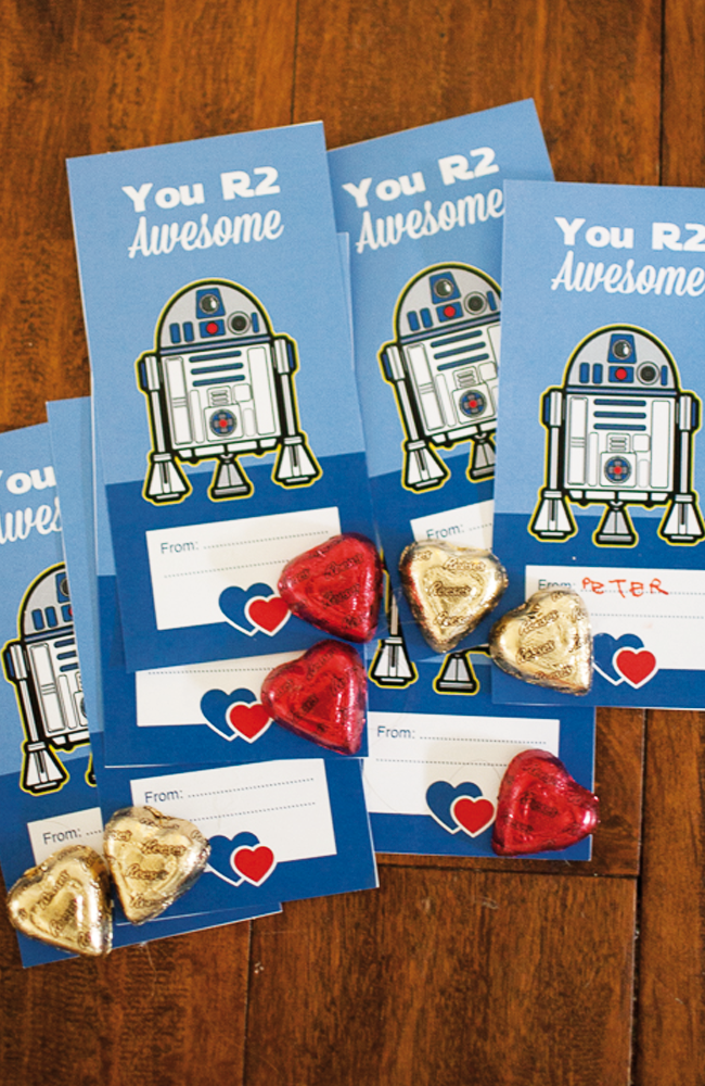 Star Wars Valentines | Free Printable Valentine's Day Cards