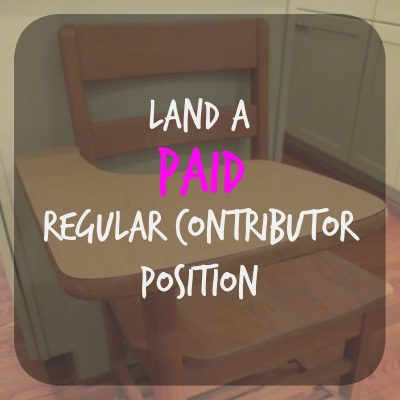 Land A PAID Regular Contributor Position At One Of These 12 Websites