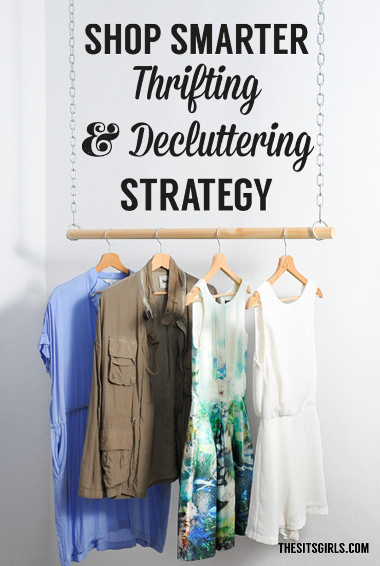 Do you love thrifting, but hate the buyer's remorse that sets in when you realize you didn't really like what you bought after you left the store? Are you drowning in clutter? Click through for great advice on shopping and decluttering from an expert thrifter!