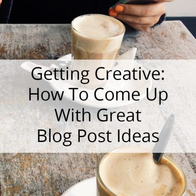 Let's Get Creative: How To Come Up With Great Ideas