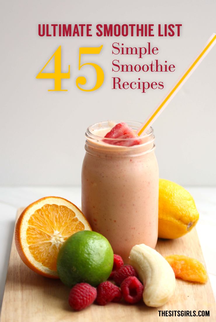 healthy shake recipes 45 delicious smoothie recipes healthy smoothies 12046