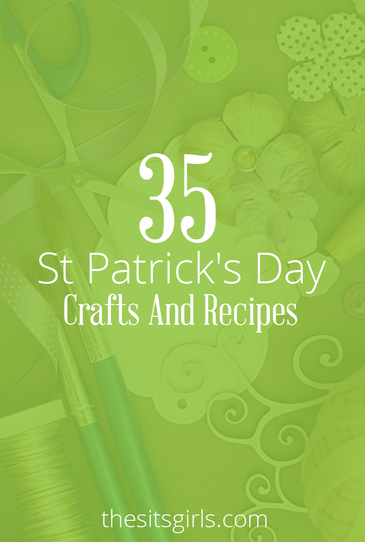 35 st patrick u0027s day crafts u0026 recipes