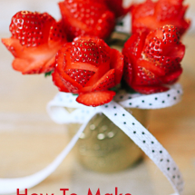 This is the cutest way to give flower on Valentine's Day!