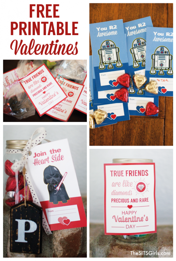 Free Printable Valentine's Day Cards | Star Wars Printables