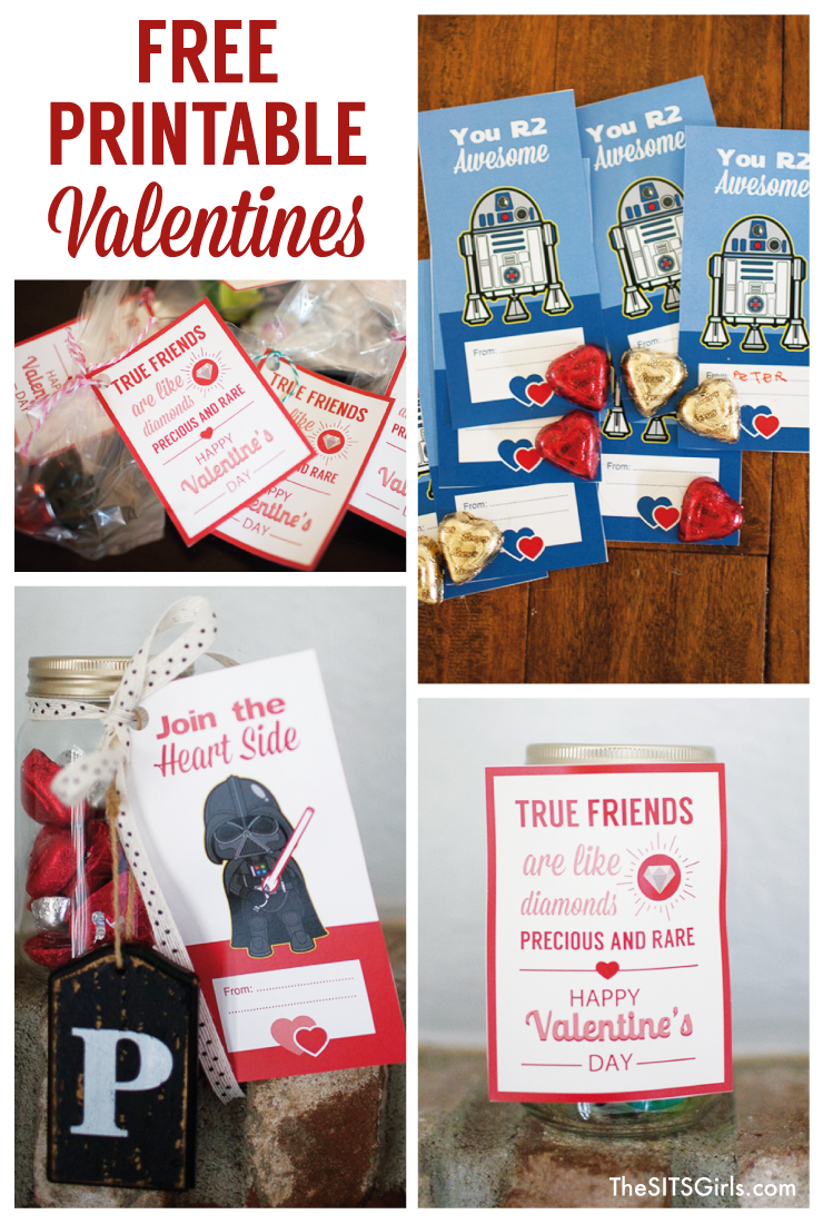 Star Wars Valentines Free Printable Valentine S Day Cards