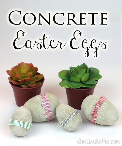 Use a more minimalist approach for your Easter Eggs this Easter!