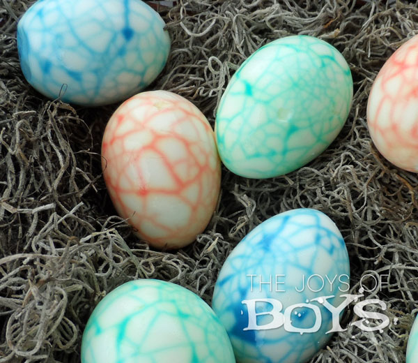 Boys will love these dino eggs!