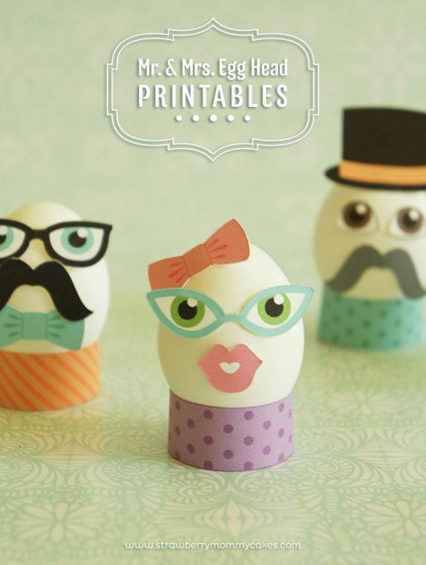 These cute printables are perfect for the kids!