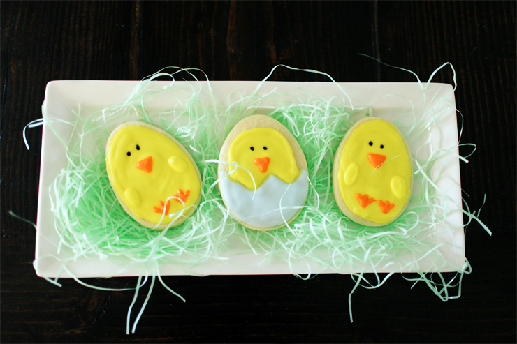2 Easter Chick Cookies