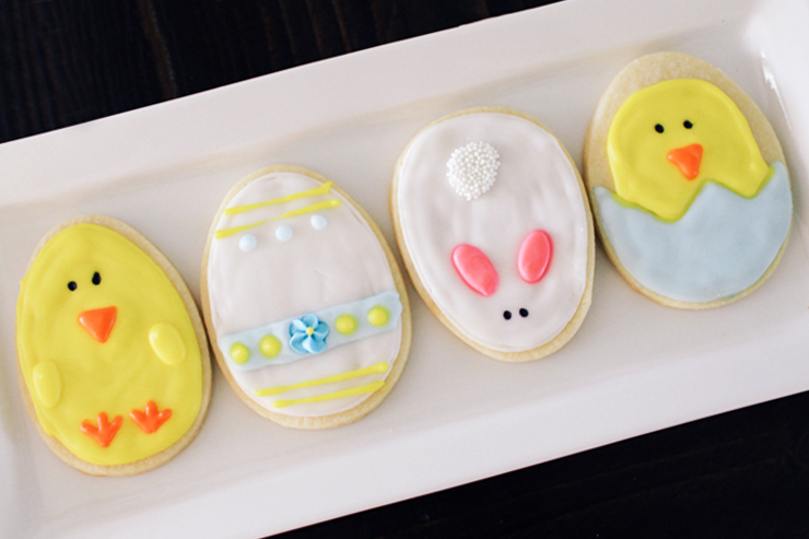4 Cute Easter Cookies