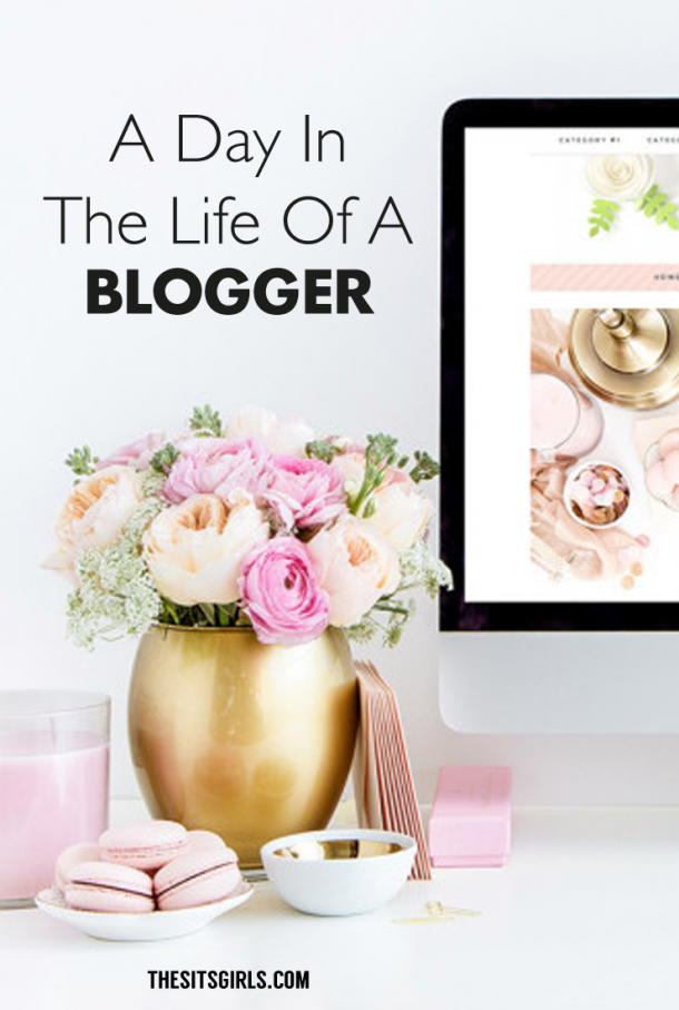 Have you ever wondered what your favorite bloggers do all day? Take a peek into a blogger's day and find out!