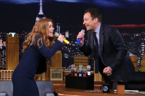 Box Of Microphones - Amy Adams Jimmy Fallon