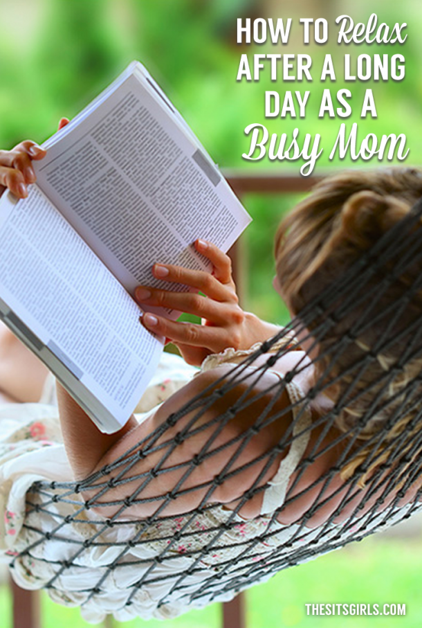 It's easy to get lost in all the busyness that comes with being a mom. Use these tips to relax after a long day.