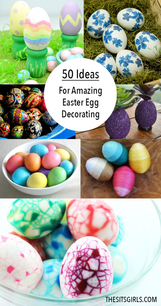 50 amazing ideas for Easter egg decorating. It's time to get creative!