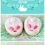 Easy Easter Cookies decorated 4 different ways.