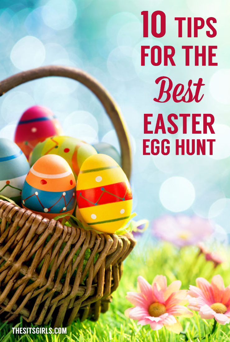 Get ready for Easter with tips for the best Easter Egg Hunt. These simple egg hunt tips will help you plan the perfect egg hunt for your family and friends.