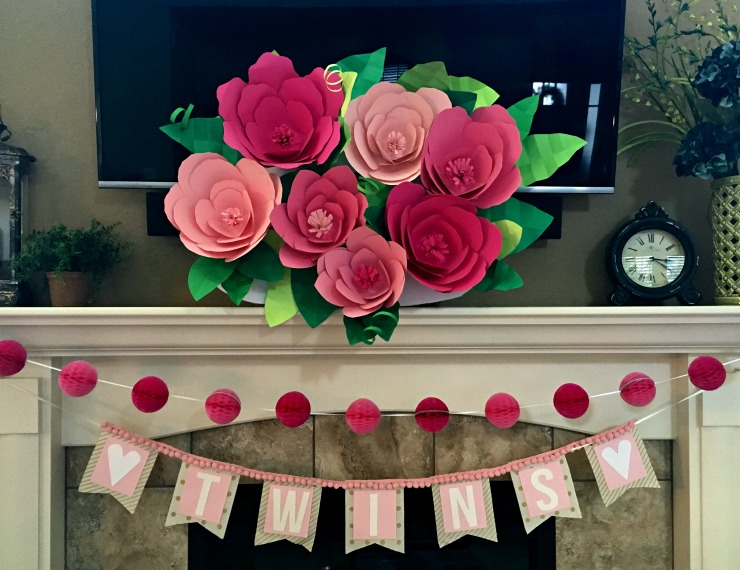 How To Decorate Bedroom Walls With Paper Flowers Flisol Home