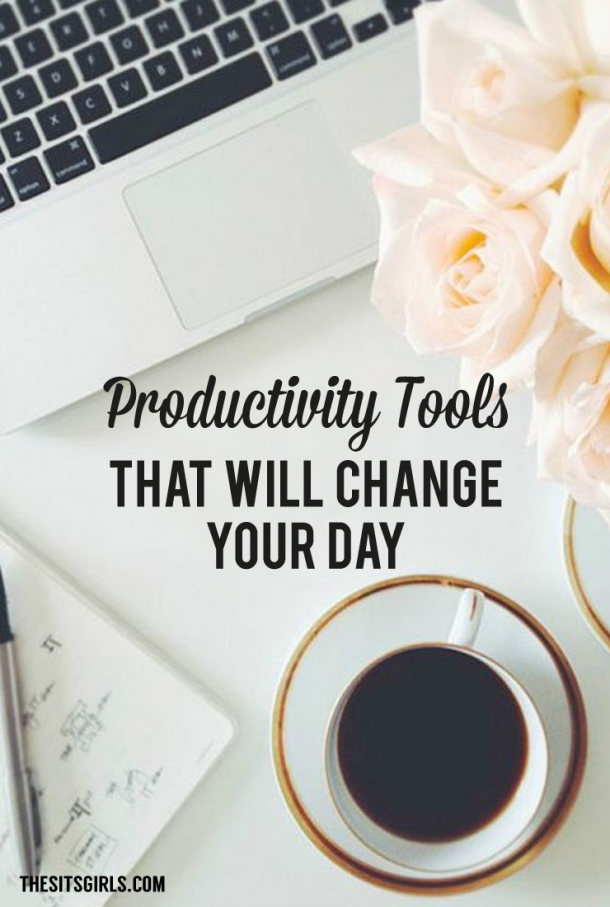 It's easy to get distracted when you are a blogger. Don't wait until you get organized to become more productive! Use these productivity tools and start today.